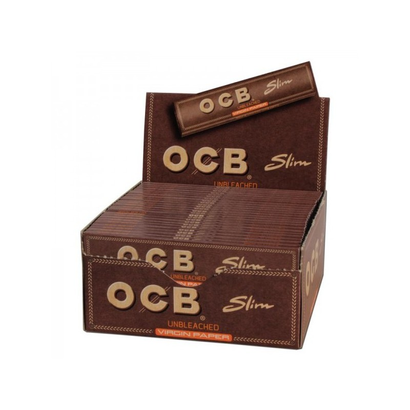50 PAQUETS OCB VIRGIN SLIM