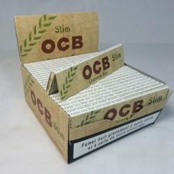 50 PAQUETS OCB SLIM CHANVRE BIO