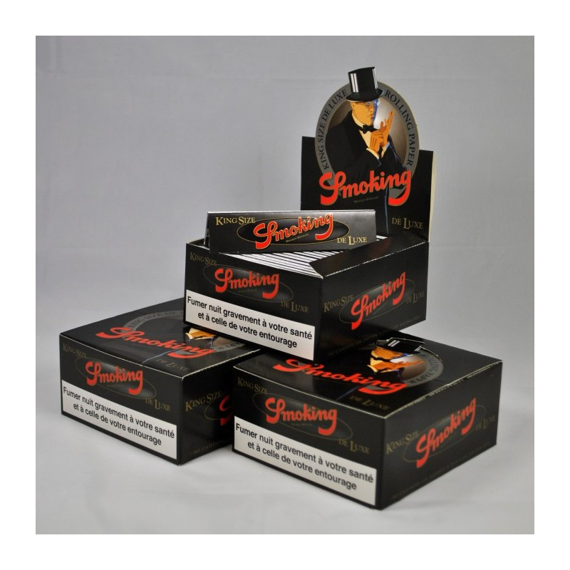 150 PAQUETS SMOKING DELUXE SLIM (3 BOITES)