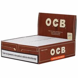 BOITE 50 PAQUETS OCB DOUBLE VIRGIN
