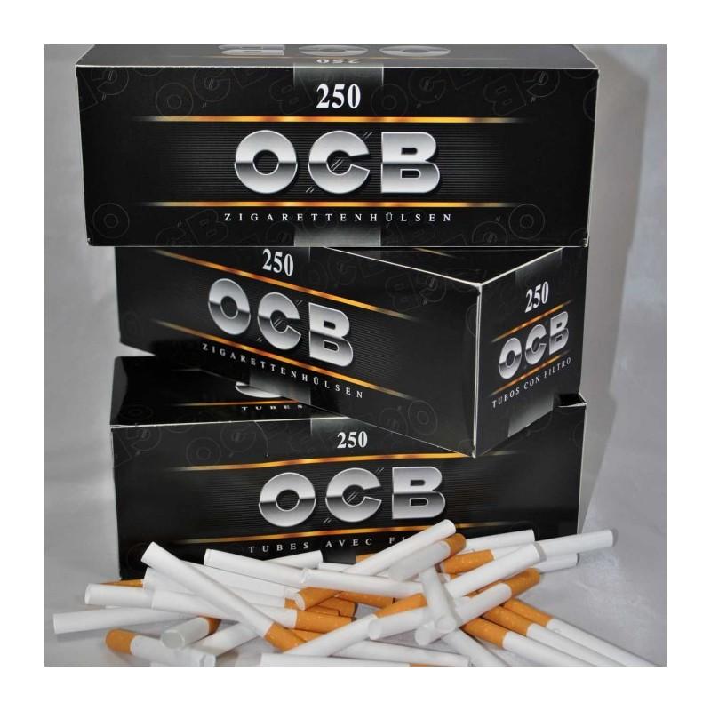 4 boites de 250 tubes ocb