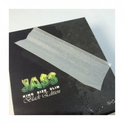 50 PAQUETS JASS BLACK EDITION SLIM VUE DOS