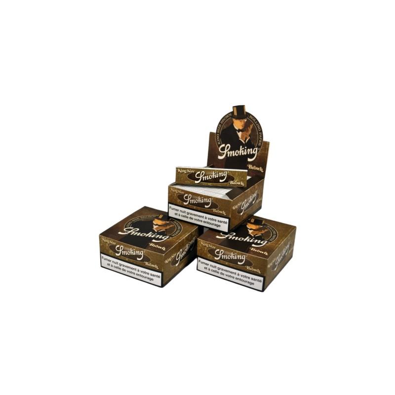 150 PAQUETS SMOKING BROWN SLIM (3 BOITES)