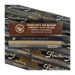 3 boites smoking brown