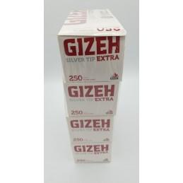 4 boites de tubes gizeh silver tip EXTRA